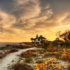 Boca Grande Lighthouse  by Gouzelka