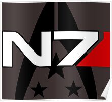 N7 Mass Effect, Alliance of the systems Poster
