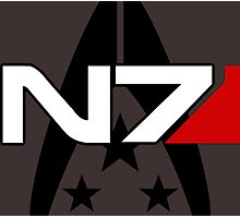 N7 Mass Effect, Alliance of the systems Photographic Print