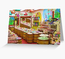 """""""Candyland"""" A buffet of sweets ! Greeting Card"""