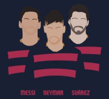 MSN - Messi Neymar Suarez - FC Barcelona Kids Clothes