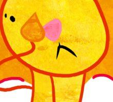 Sad Lion Sticker