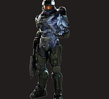 Master Chief and Cortanna by MeatspinLegacy