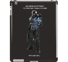 Master Chief and Cortanna iPad Case/Skin