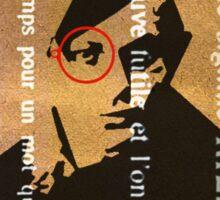 Tristan Tzara Sticker