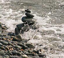 Pebble Stack by GreyFeatherPhot