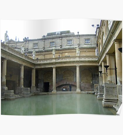 ROMAN BATHS, Bath, UK Poster