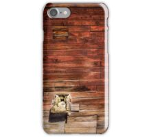 Wooden texture iPhone Case/Skin