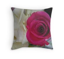 Girls Night Out Roses Throw Pillow