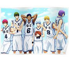 Kuroko No Basket - Generation Of Miracles Poster