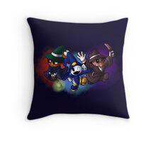 Petit Jack Bros. Throw Pillow