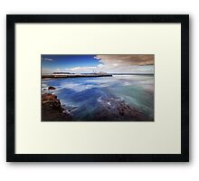 To Sea We Go Framed Print