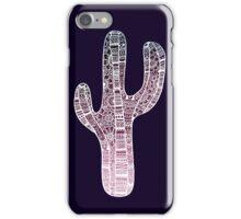 Cactus: White/Purple iPhone Case/Skin
