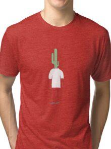 Cactus Head Tri-blend T-Shirt