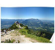 The Eagles Nest overlooking Saltzburg Poster