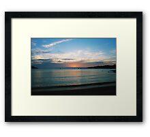 Freycinet Sunset Framed Print