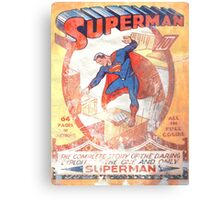 Superman Poster Canvas Print