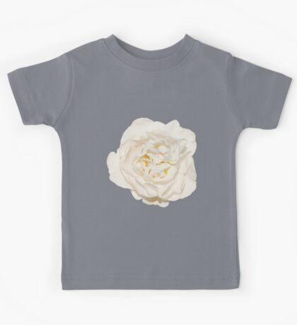 White tender rose Kids Tee