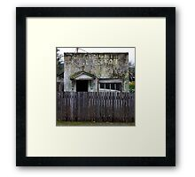 Real Estate Decay Framed Print