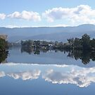 Huon River mirrored by mooksool