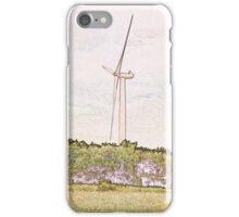 Wind Turbine. iPhone Case/Skin