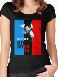 Justice KONY 2012 Women's Fitted Scoop T-Shirt