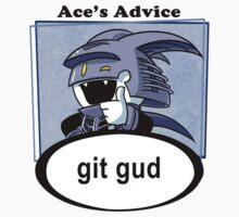 Ace's Advice -Git Gud Version- Kids Tee