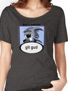 Ace's Advice -Git Gud Version- Women's Relaxed Fit T-Shirt