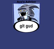Ace's Advice -Git Gud Version- Womens Fitted T-Shirt