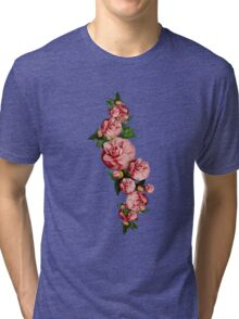 Creeping beautiful flower Tri-blend T-Shirt