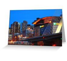 Home Of The Celtics And Bruins Greeting Card