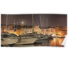 Grand Harbour, Malta. Poster