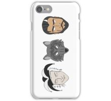 Fitz, The Fool, and Nighteyes iPhone Case/Skin