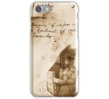 the Jekyll & Hyde notes #1 iPhone Case/Skin