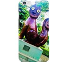 Dreamy eyes in intense colors. iPhone Case/Skin