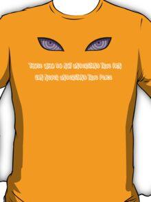 Pein, Nagato, Rinnegan Eyes (White) Naruto T-Shirt