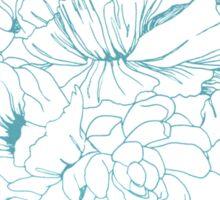Floral Design Hand Drawn Sticker