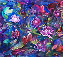 Waterlillies by Cathy Gilday
