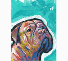 Dogue De Bordeaux Dog Bright colorful pop dog art Unisex T-Shirt