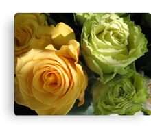 Formal Roses for a Formal Lady Canvas Print