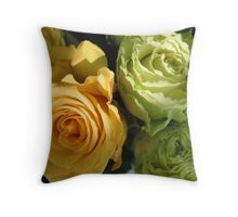 Formal Roses for a Formal Lady Throw Pillow