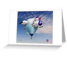 2011 Special Shapes - The Stork Greeting Card