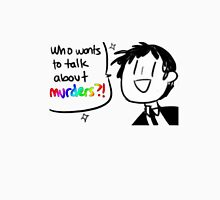 Adachi - Who Wants To Talk About Murders? (Persona 4) Unisex T-Shirt