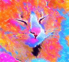 Bella the Cat in Pastel by ThePaintedTree