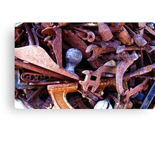 Rusty Conglomeration Canvas Print