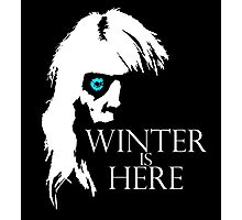 White Walker: Winter Is Here  Photographic Print
