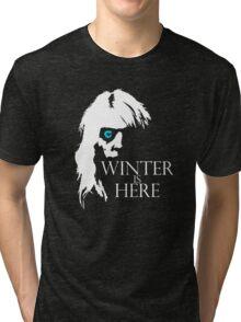 White Walker: Winter Is Here  Tri-blend T-Shirt
