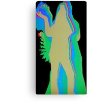 Colorful pose Canvas Print