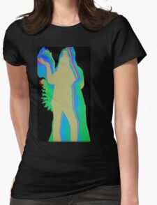 Colorful pose Womens Fitted T-Shirt