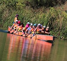 Paddling the Ord Marathon by KazM